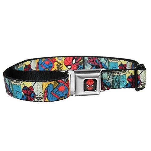 Spiderman Comic Auto Seatbelt Buckle Strap Belt for Kids