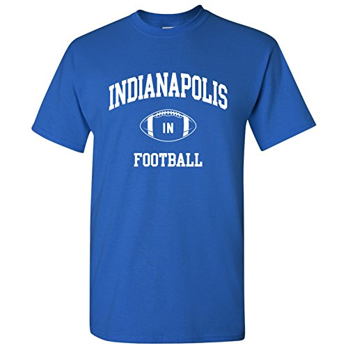 Indianapolis Classic Football Arch Basic Cotton T-Shirt - X-Large - ()