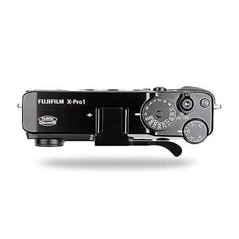Haoge THB-XB Metal Hot Shoe Thumb Up Rest Hand Grip for Fujifilm Fuji FinePix X100F X-Pro2 XPro2 Camera Black