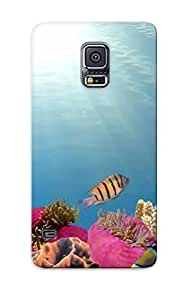Galaxy S5 Pbuvlkn4195VSLei Tropical Fish Silicone Gel Case Cover For Lovers