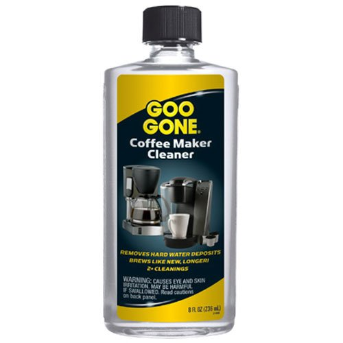 Goo Gone Coffee Maker Cleaner, 8 Fluid Ounce