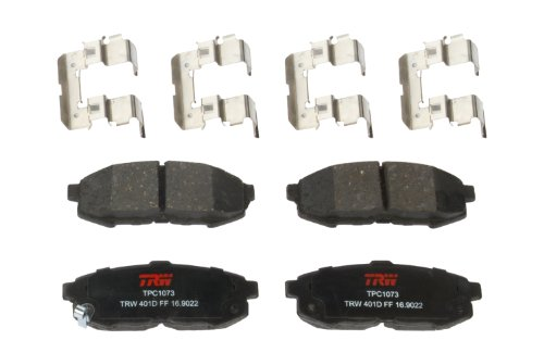 TRW TPC1073 Premium Ceramic Rear Disc Brake Pad Set