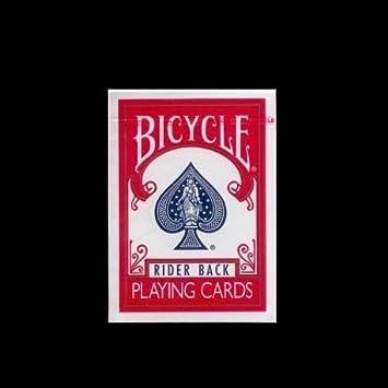 Baraja BICYCLE Rider-Back - Color Rojo (US Playing Card Company)