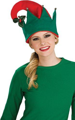 (Rubie's Mistletoe Hat, Red/Green, One)
