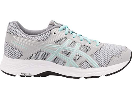 ASICS Women's Gel-Contend 5 Running Shoes, 7.5W, MID Grey/ICY Morning