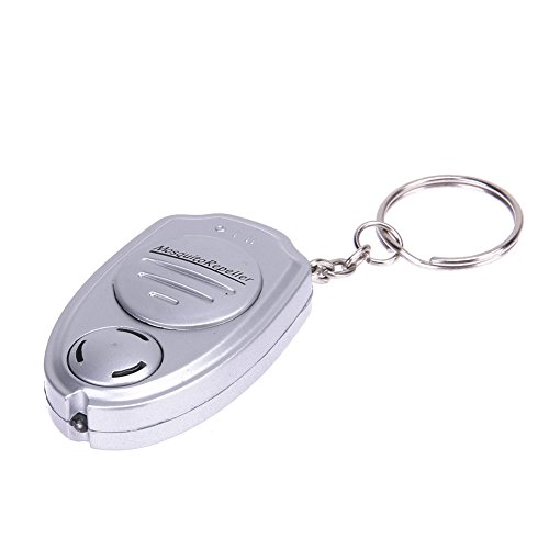 GRH Electronic Ultrasonic Mosquito Repeller Mosquito Killer Portable Keychain Insect Repeller Pest Reject