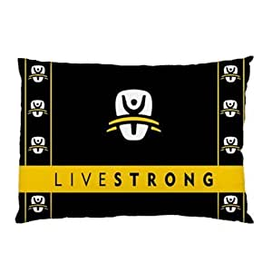 Miniwin Livestrong Pillow Case Two Side Cover Rectangle Pillowcases