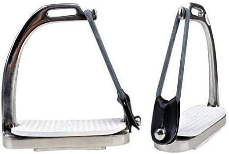 HKM Sicherheitssteigbügel aus Edelstahl per Paar, 12