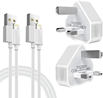phone charging plug MFi Certified 2Pack 1M Phone Cable and 2Pack USB Plug Wall Charger for iphone 11/MAX/XS...