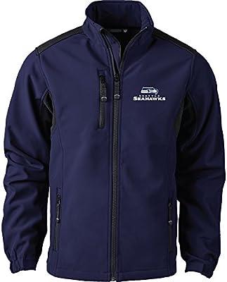 Amazon.com   Dunbrooke Apparel NFL Seattle Seahawks Men s Softshell Jacket f9bfce67e
