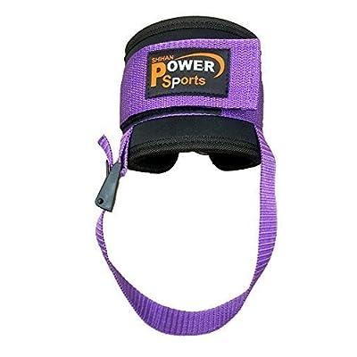 Haut de gym énergie Violet OYSTON bride cheville pied / FLEXIBLE vendu (simple) Câble Machine Multi-gym Fixation avec fourreau unisexe-adulte séances d'entraînement ( Yoga, Pilate, Kickboxing,