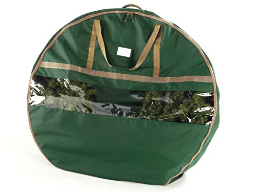 Covermates – 48 Christmas Wreath Storage Bag – 3 Year Warranty - Green