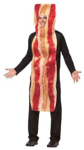 Rasta Imposta Costumes (Rasta Imposta Bacon Strip Costume, Brown, One Size)