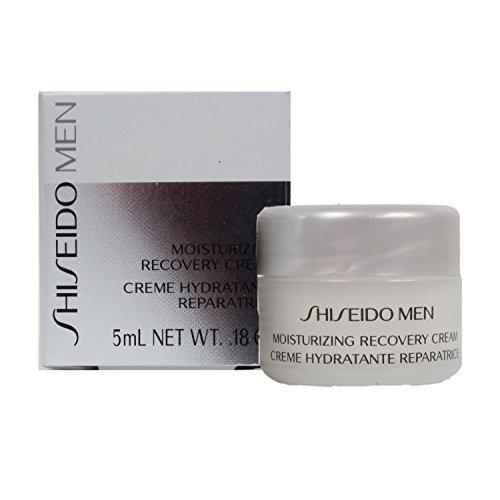Shiseido Men Moisturizing Recovery Cream 5ml./.18oz Travel Size!!! - Ounce Cream 0.18