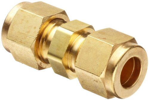 Parker cpi hbz b brass compression tube fitting union