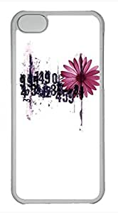 iPhone 5c case, Cute The Beauty In Numbers iPhone 5c Cover, iPhone 5c Cases, Hard Clear iPhone 5c Covers