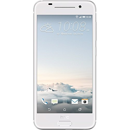 HTC One A9 32GB Unlocked GSM 4G LTE Octa-Core Smartphone - Opal Silver (Certified Refurbished)