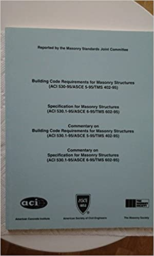 Building Code Requirements for Masonry Structures (ACI 530-95/ASCE ...