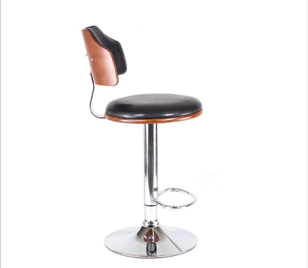 AO-stools Bar Chair Bar Stool Stylish American Solid Wood Bar Chair Lift 60x40x17cm by AO (Image #2)