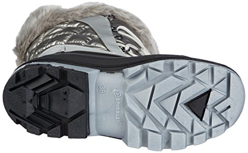 Spirale OLGA - botas de nieve de material sintético mujer Plata - Silber (silber 87)