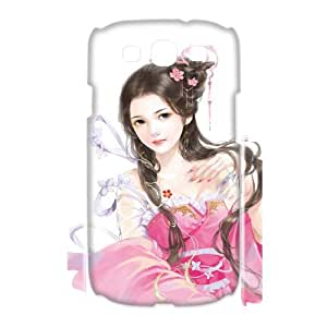 LASHAP Phone Case Of cute girl For Samsung Galaxy S3 I9300