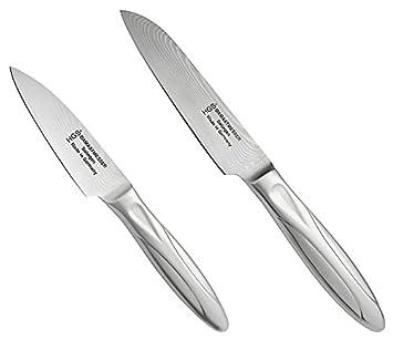 HGS Solingen Santoku Lote de 2 cuchillos de cocina: Amazon ...