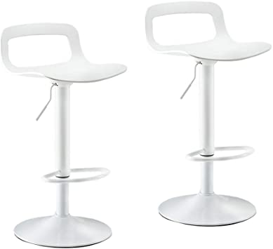 Dioe Modern Bar Stool Height Adjustable Adjustable 60cm To 80cm Modern Swivel Chair With Backrest Stool Stool Dining Chair Set Of 2 Furniture Decor
