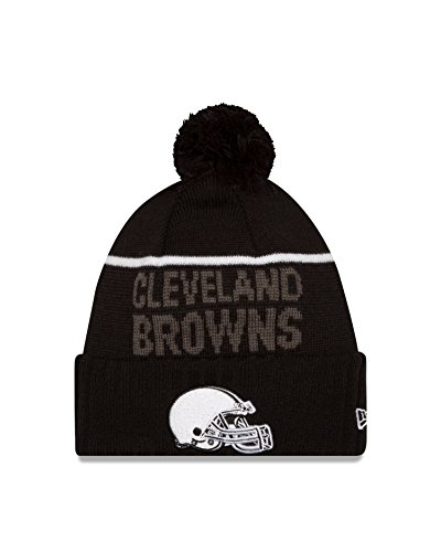 Browns Cleveland White Fleece (NFL Cleveland Browns 2015 Sport Knit, Black, One Size)