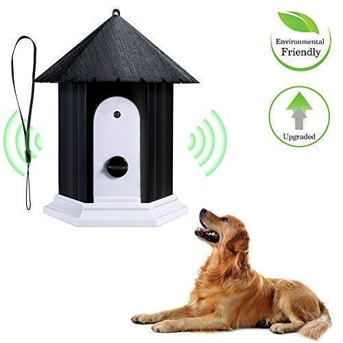 Openuye Anti Barking Device, 100% Harmless Ultrasonic Bark Control and Waterproof Stop Dog Barking Device Indoor Outdoor, Hidden Anti-Barking Device