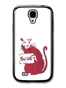 AMAF ? Accessories Banksy Rat fits Samsung Galaxy S4 Case Street Art