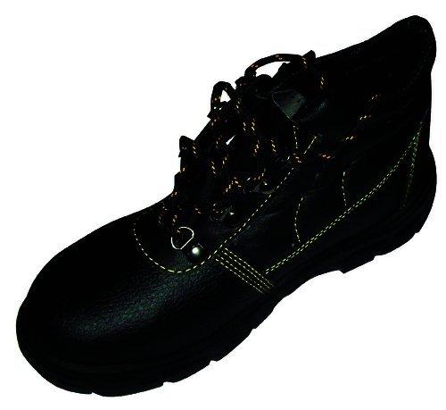 N S1p Protexio Zapatos 41 Cuero Negro Alta De wqqOYv7