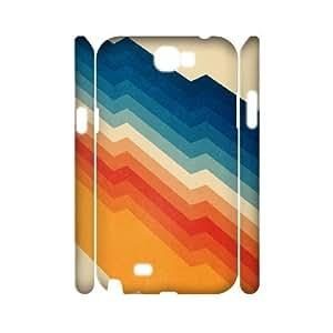 3D Doah Art Prints Samsung Galaxy Note 2 Cases Barricade Hardshell for Girls, Samsung Galaxy Note2 Cases for Men Hardshell for Girls [White]