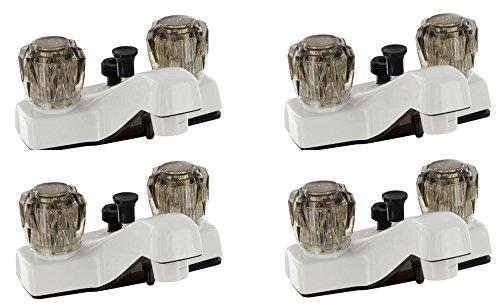 Phoenix PF212242 Lavatory Shower Faucet, White, 4'' (4)