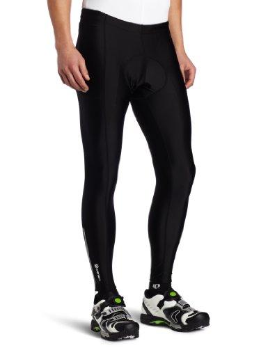 Canari Cyclewear Men's Pro Elite Gel Cycle Tights, Black, X-