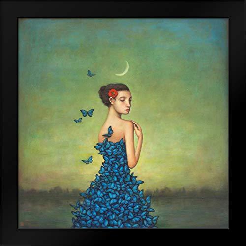 Metamorphosis in Blue Framed Art Print by Huynh, Duy