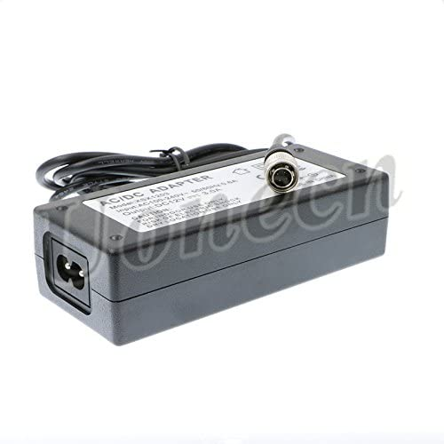 Uonecn AC//DC Sound Devices ZAXCOM PRO DC Power Adapter 12V 3A hirose 4 pin male