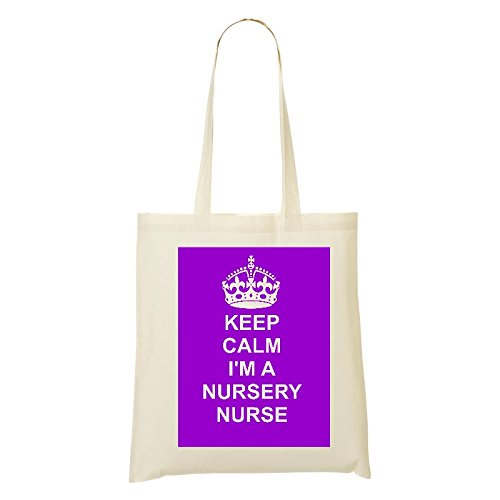 PINK nursery Design Natural BAG CAREER Tote bag Cotton on JOB nurse Shoulder COTTON XnSwFrTqS