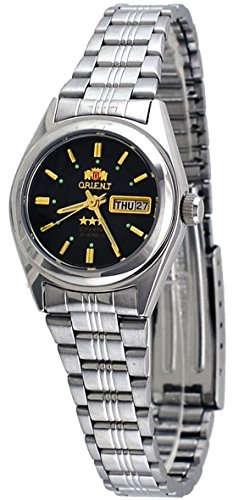 Orient #BNQ1X001B Women's Tri Star Black Dial Automatic Watch