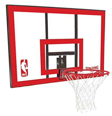Spalding 79351 Backboard/Rim Combo with 44in PolyCarbonate Backboard