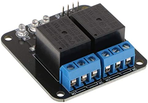 ZT-TTHG 2つのチャンネルリレーモジュールボードリレーモジュール10A DC 30V自動制御