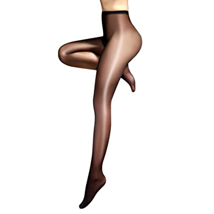 Classic Hottest Womens Sheer Sexy Shiny Glossy Stocking Oil Pantyhose Tights Women's Clothing