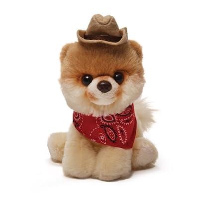 Gund Boo Plush in a Cowboy Hat