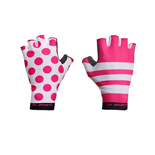 Hiklese Anti Slip Gel Pad Bicycle Gloves Gel Pad Short Half Finger Cycling Breathable Outdoor Sports MTB Bikes Gloves