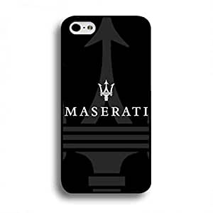Unique Style Maserati Famous Car Brand Funda Case, Plastic Black Cover, Maserati Famous Car Brand iPhone 6 Plus/iPhone 6S Plus(5.5inch) Case