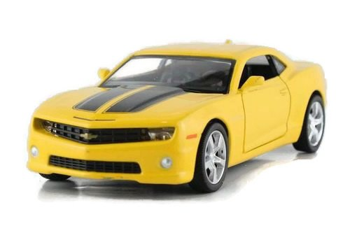 1:36 Chevrolet Camaro Bumblebee Alloy Diecast Car Model Toys Vehicle Yellow 2092 SJS (Toy Camaro Model compare prices)
