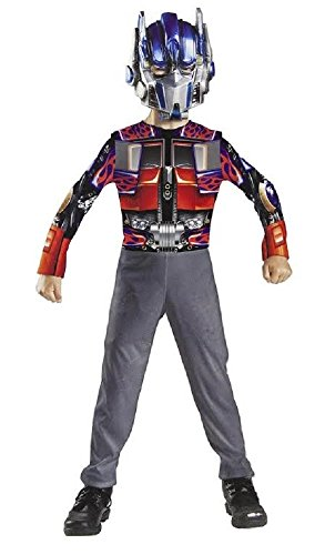 [Transformers Optimus Prime Basic Child Costume Small Size] (Transformer Costumes That Transforms)