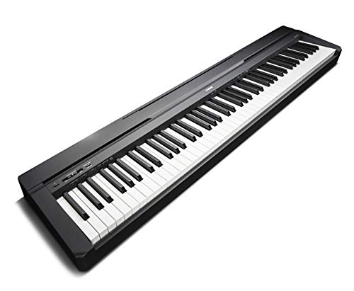 yamaha p 45b digital piano black buy online in ksa musical instruments products in saudi. Black Bedroom Furniture Sets. Home Design Ideas