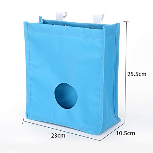 Livecity pratico armadio cucina porta Hanging Storage Bag sacco spazzatura organizer large Beige