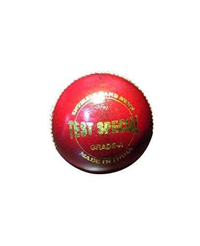 RG Test Special Cricket Ball(Shape- Round, Material- Leather