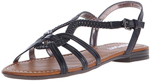 Report Women's Flat Black Sandal Garam qwX6FwRr